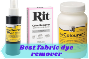 best fabric dye remover