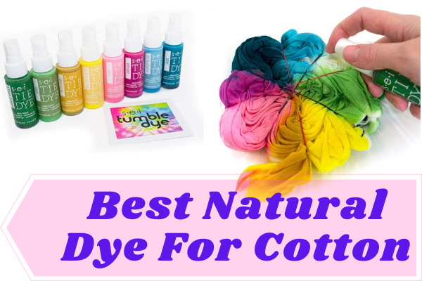 best natural dye for cotton