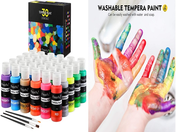 Washable Tempera Paint for Kids